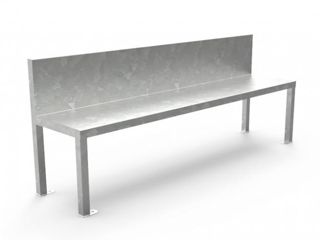 Antivandalic Bench